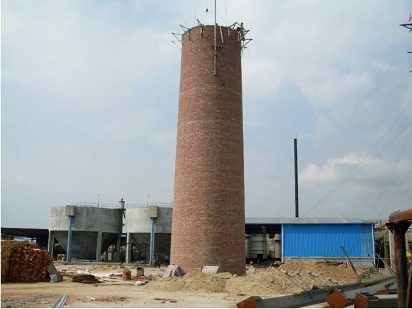 水泥烟囱维修